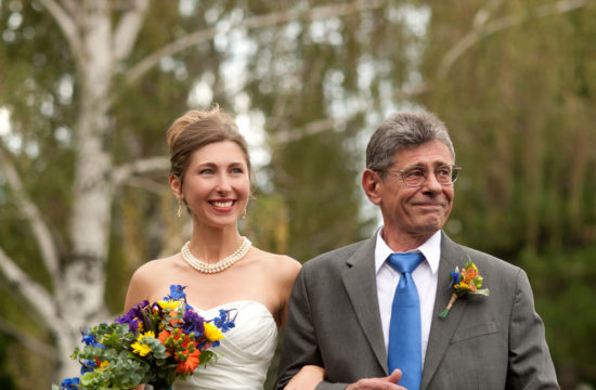 Flagstaff wedding in the park