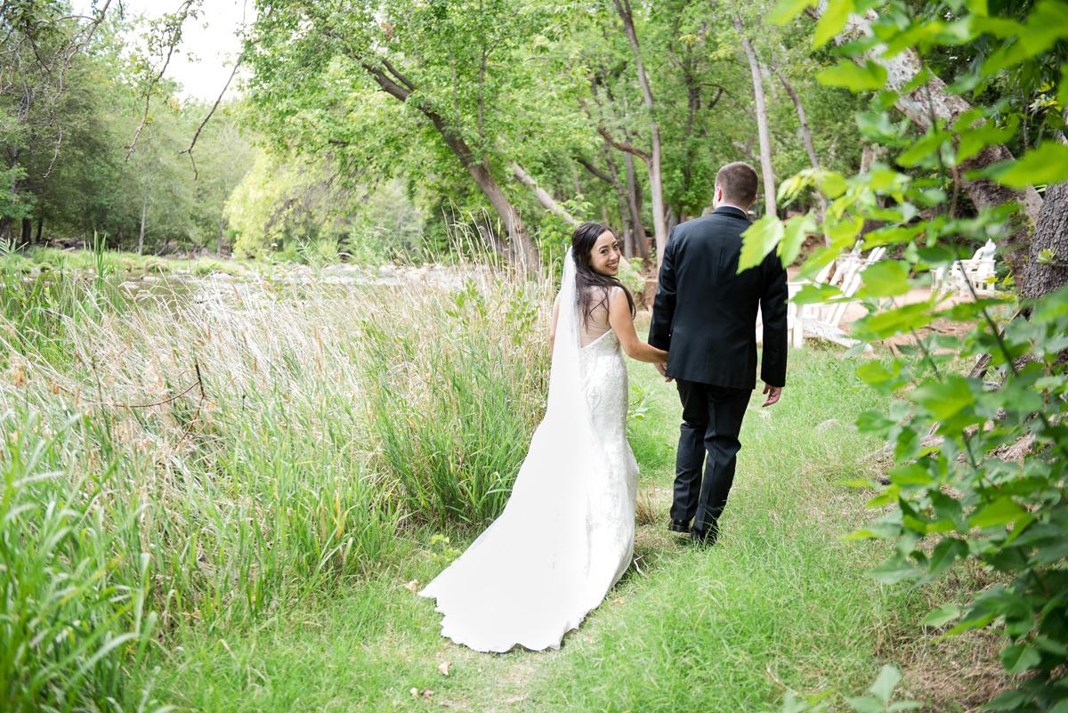Summer morning wedding in Sedona