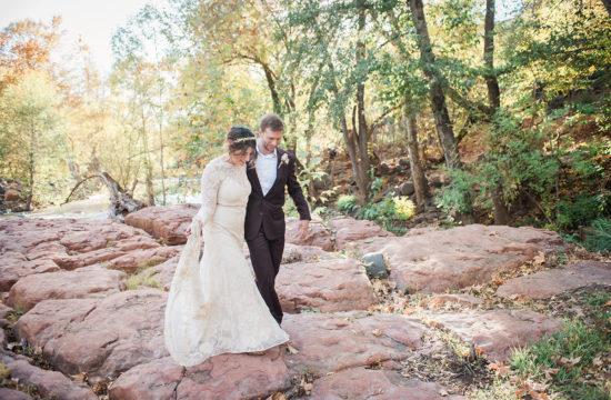 Fall Sedona wedding elopement photographer