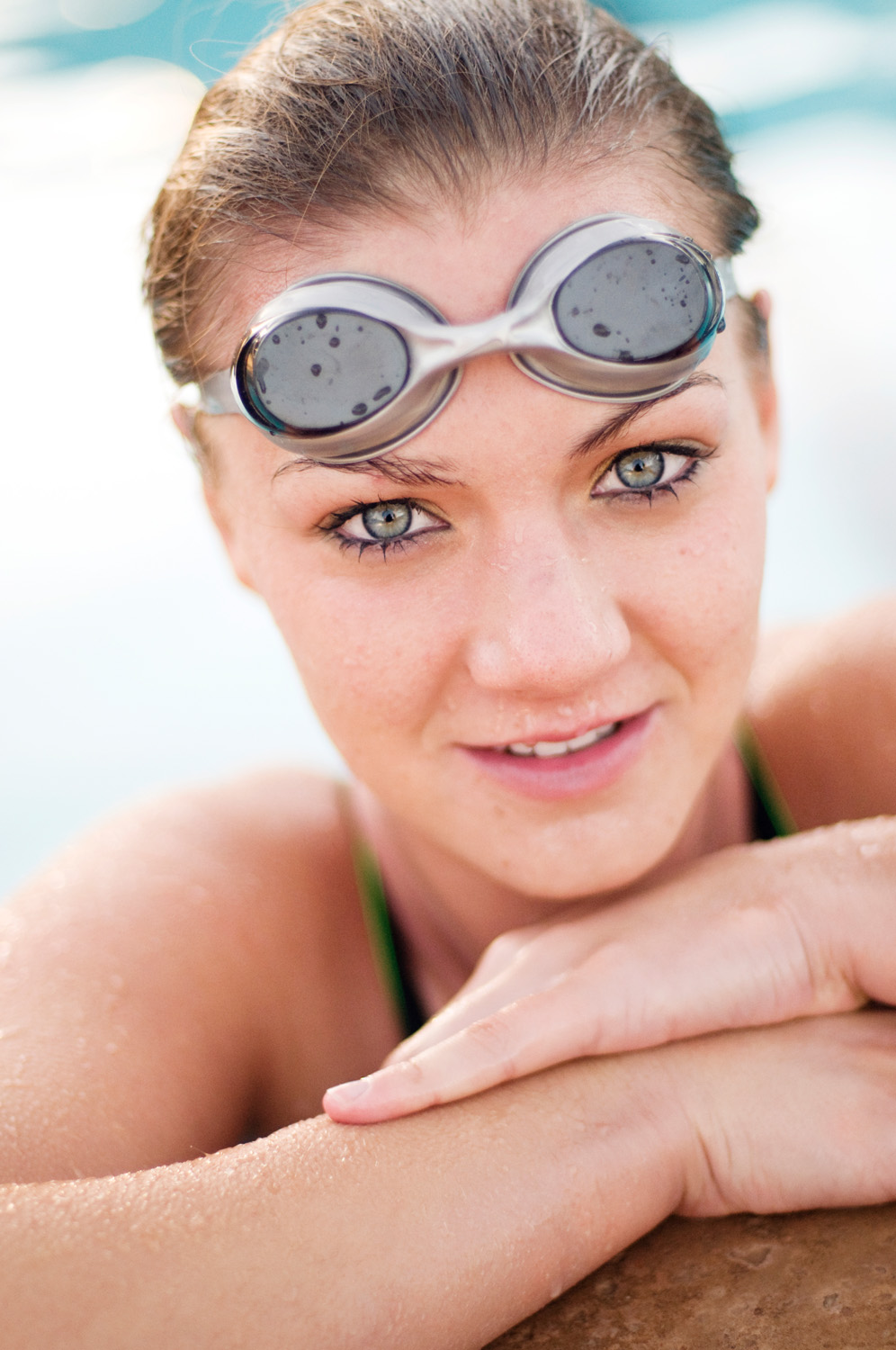 high school senior photographer swimmer Flagstaff
