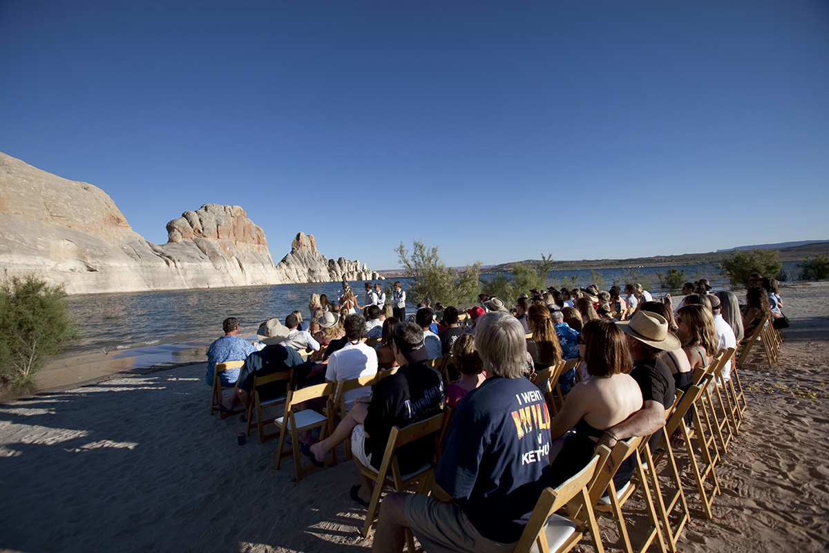Lake Powell wedding