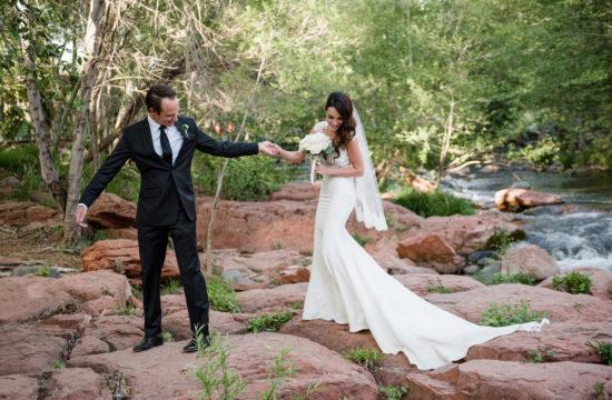 Sedona wedding in Oak Creek