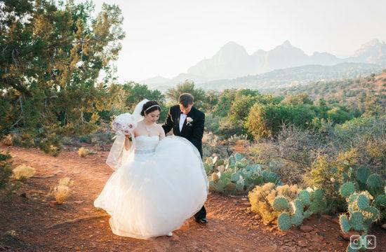 luxury sedona wedding photographer