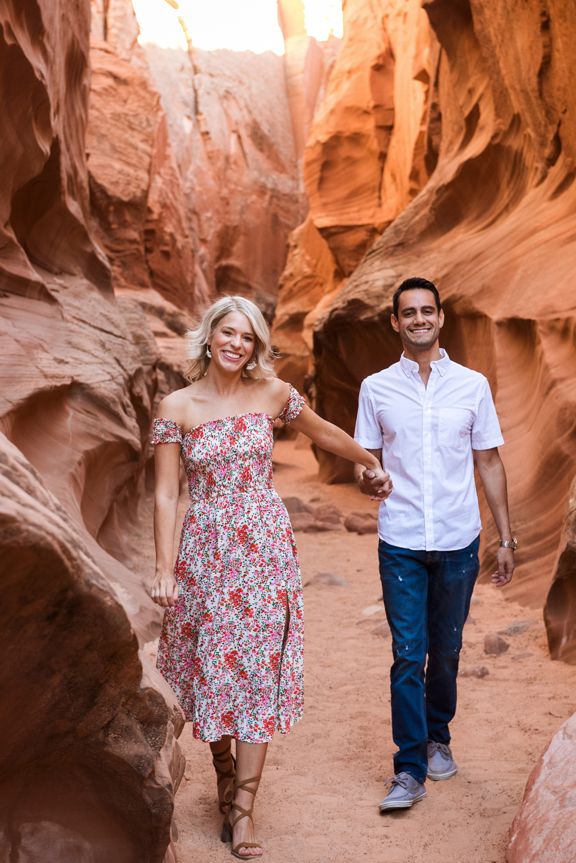 Arizona Horseshoe Bend Engagement Photographer